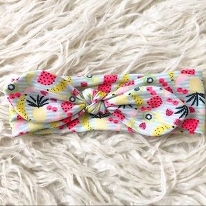 Baby Girl Fruit Headwrao Hair Bow